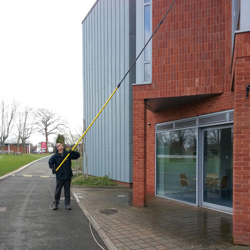 Pure Water Commercial Window Cleaning In The Midlands
